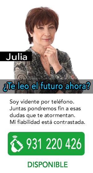 Julia es vidente real